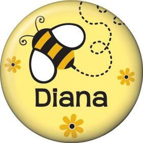Bumble Bee Personalized Mini Button (each)