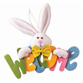 Bunny Felt Hang Decoration