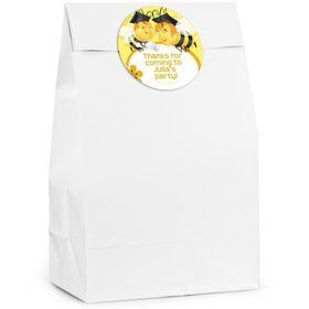 Busy Bee Personalized Favor Bag (Set of 12)