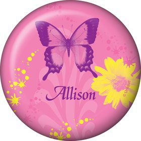 Butterfly Birthday Personalized Button (each)
