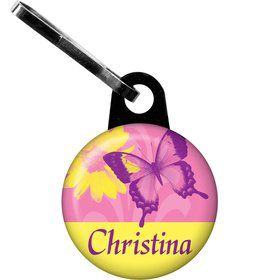 Butterfly Birthday Personalized Zipper Pull (each)