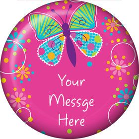 Butterfly Sparkle Personalized Magnet (Each)