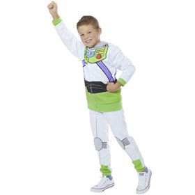 Buzz Lightyear Boy's Toy Story 4 Hoodie and Pants Costume