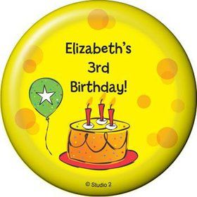 Cake Celebration Personalized Magnet (each)