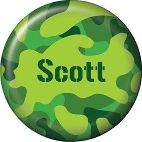Camouflage Personalized Mini Button (each)