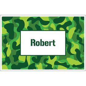 Camouflage Personalized Placemat (each)