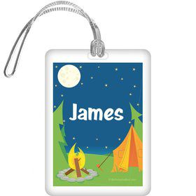 Camping Personalized Bag Tag (each)