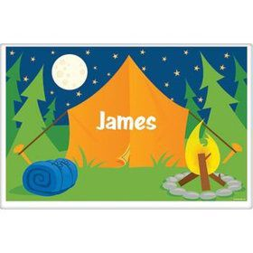 Camping Personalized Placemat (each)