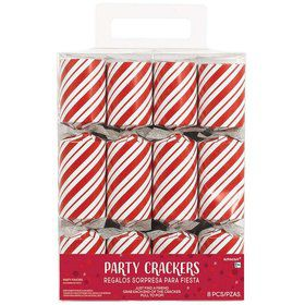 Candy Cane Holiday Crackers