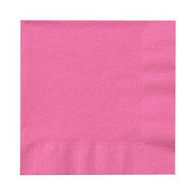 Candy Pink (Hot Pink) Beverage Napkins