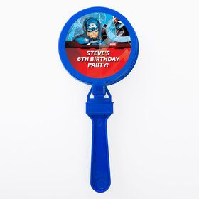 Captain America Personalized Clappers (Set Of 12)