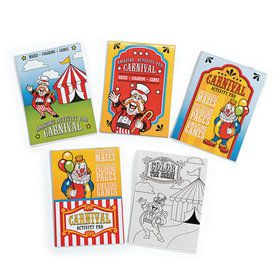 Carnival Activity Pads (12)