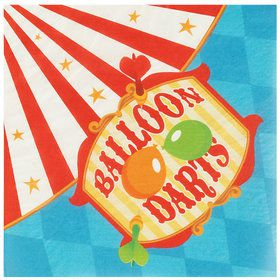 Carnival Games Lunch Napkins