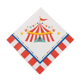 Carnival Lunch Napkin (16)