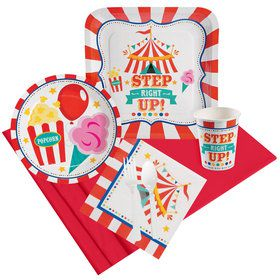 Carnival Party Pack For 8