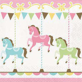 Carousel Lunch Napkin (16)