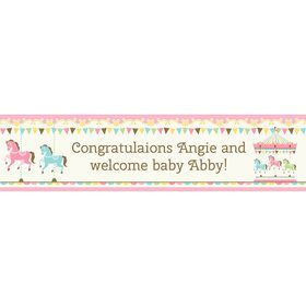 Carousel Personalized Banner (Each)