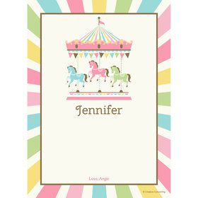Carousel Personalized Thank You (Each)