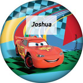 Cars Too Personalized Button (Each)