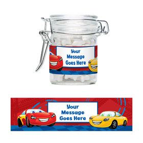 Cars 2 Personalized Glass Apothecary Jars (12 Count)