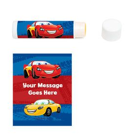 Cars Personalized Lip Balm (12 Pack)
