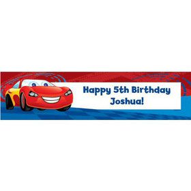 Cars Too Personalized Banner (each)