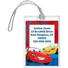 Cars Too Personalized Luggage Tag (each)