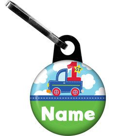 Cars, Trucks, & Trains Personalized Zipper Pull (Each)