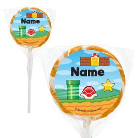 "Cart Brothers Personalized 2"" Lollipops (20 Pack)"