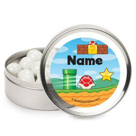 Cart Brothers Personalized Candy Tins (12 Pack)