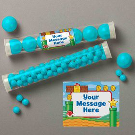 Cart Brothers Personalized Candy Tubes (12 Count)