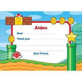 Cart Brothers Personalized Thank You Note (Each)
