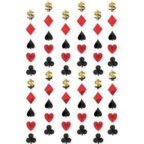Casino String Decoration (Each)