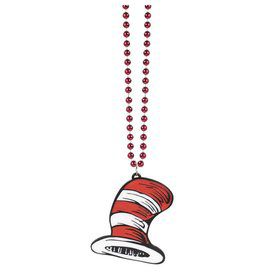 Cat in the Hat Bling Necklace