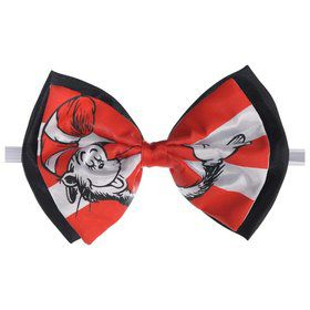 Cat in the Hat Deluxe Printed Bowtie