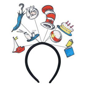 Cat in the Hat Multi-icon Headband