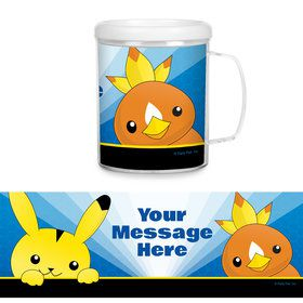 Catch 'Em All Personalized Favor Mug (Each)