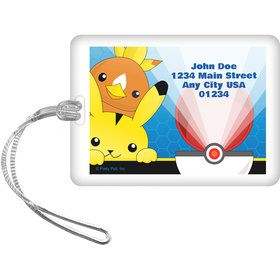 Catch 'Em All Personalized Luggage Tag (Each)