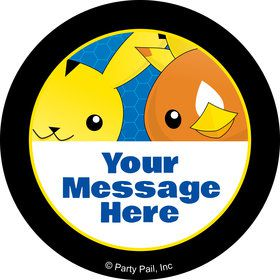 Catch 'Em All Personalized Stickers (Sheet of 12)