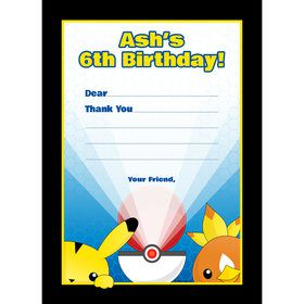 Catch 'Em All Personalized Thank You (Each)
