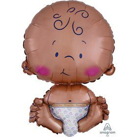 Celebrate Baby 24 Jumbo Shaped Foil Balloon