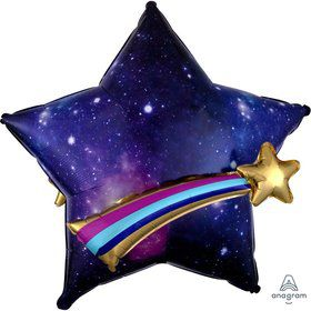 Celestial Star 28 Jumbo Shaped Balloon