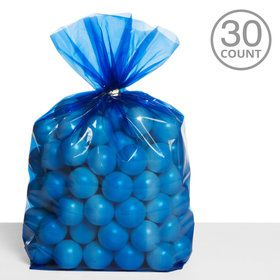 Cello Bags Dark Blue (30 Count)
