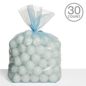 Cello Bags Light Blue (30 Count)