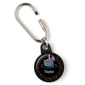 "Chalk Birthday Personalized 1"" Carabiner (Each)"