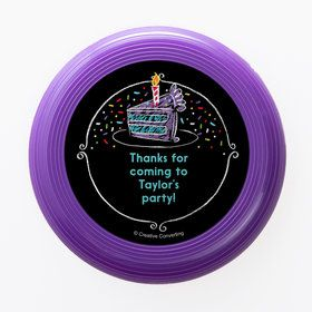 Chalk Birthday Personalized Mini Discs (Set of 12)