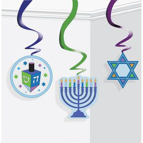 Chanukah Hanging Decorations