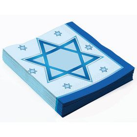 Chanukah Luncheon Napkins (16)
