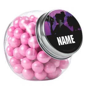 Cheerleading Personalized Plain Glass Jars (10 Count)