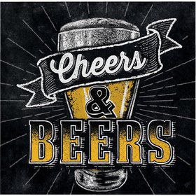 Cheers & Beers Beverage Napkins (16)